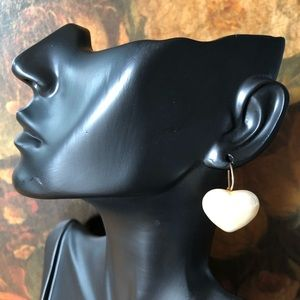 🔥 Vintage Marvella Heart Shaped Earrings